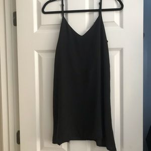 NWOT Backless Black Dress